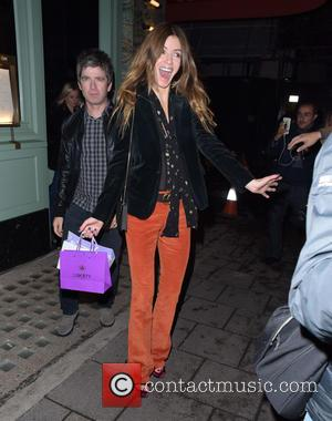 Noel Gallagher , Sara MacDonald - Noel Gallagher Sara MacDonald at Sexy Fish eatery Berkeley Square - London, United Kingdom...