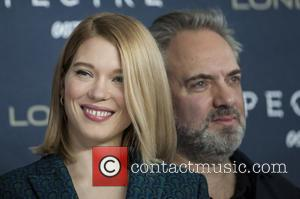 Lea Seydoux , Sam Mendes - Celebrities  attends a photocall for