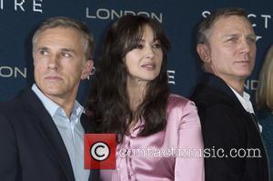 Christoph Waltz, Monica Bellucci , Daniel Craig - Celebrities  attends a photocall for