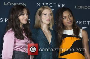 Monica Bellucci, Lea Seydoux and Naomi Harris