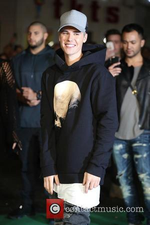 Justin Bieber - World Premiere of Ed Sheeran's 'Jumpers For Goalposts' held at the Odeon - Arrivals - London, United...