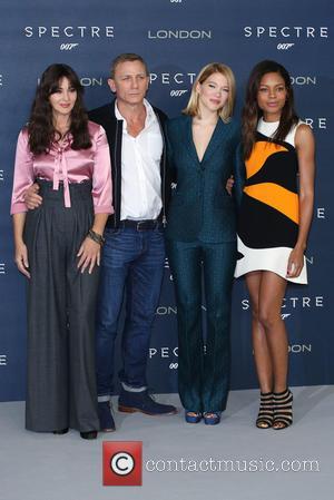 Monica Bellucci, Daniel Craig, Lea Seydoux , Naomie Harris - James Bond Spectre photocall - Arrivals - London, United Kingdom...