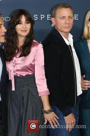 Monica Bellucci , Daniel Craig - James Bond Spectre photocall - Arrivals - London, United Kingdom - Thursday 22nd October...
