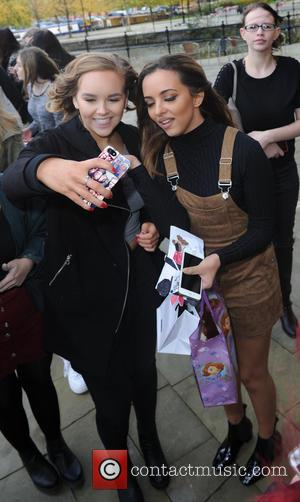Jade Thirwall - Little Mix leave Key 103  Radio Station Manchester - Manchester, United Kingdom - Thursday 22nd October...