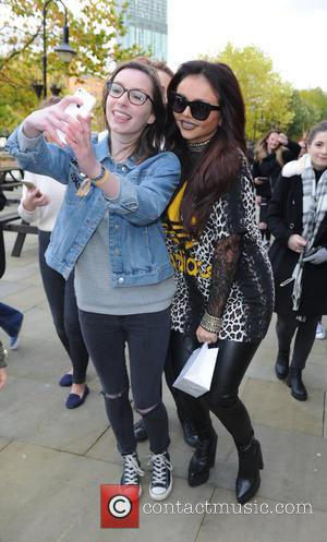 Jesy Nelson - Little Mix leave Key 103  Radio Station Manchester - Manchester, United Kingdom - Thursday 22nd October...
