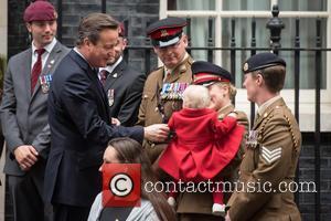 David Cameron, Private Jodie Older and Isabella Older
