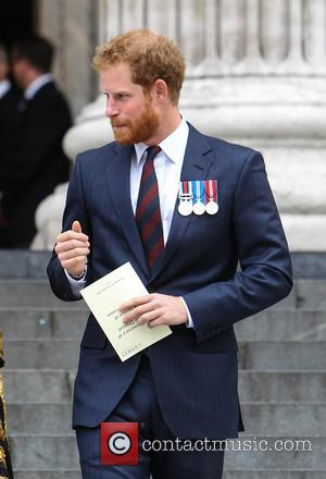 Prince Harry - Prince Harry attends a service to commemorate the 75th anniversary of the Bomb Disposal Unit at St....