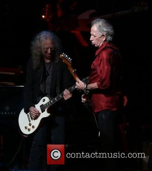 Waddy Wachtel and Keith Richards