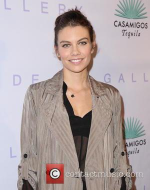 Lauren Cohan - Opening of Brian Bowen Smith's 'Metallic Life' exhibition at De Re Gallery West Hollywood - Arrivals -...
