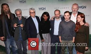 Cast, L To R, Ryan Hurst, Peter Mattei, Peter Tolan, Christina Jackson, Paul Giamatti, Kyle Gallner, David Morse and Gillian Alexy