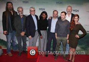 Cast, L to R, Ryan Hurst, Peter Mattei, Peter Tolan, Christina Jackson, Paul Giamatti, Kyle Gallner, David Morse , Gillian...