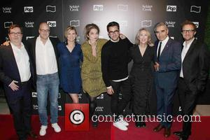 Cast - 11th Annual New York Television Festival -'Shitt's Creek' Screening at SVA - Arrivals - New York City, New...