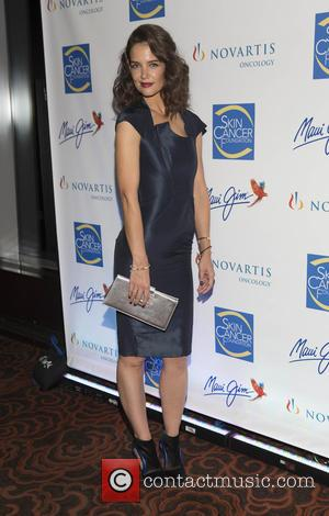Katie Holmes - The 2015 Skin Cancer Foundation Gala at Mandarin Oriental New York - Arrivals - New York, New...