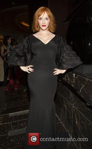 Christina Hendricks - The 2015 Skin Cancer Foundation Gala at Mandarin Oriental New York - Arrivals - New York, New...