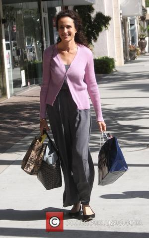 Andie MacDowell - Andie MacDowell goes shopping in Beverly Hills - Hollywood, California, United States - Thursday 22nd October 2015