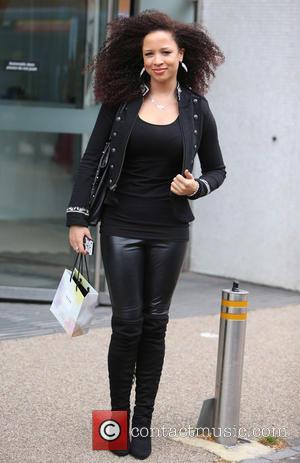 Natalie Gumede - Natalie Gumede outside ITV Studios - London, United Kingdom - Thursday 22nd October 2015
