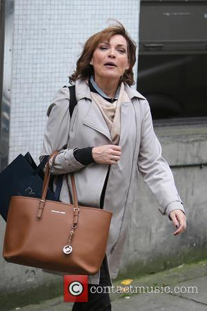 Lorraine Kelly - Lorraine Kelly outside ITV Studios - London, United Kingdom - Thursday 22nd October 2015