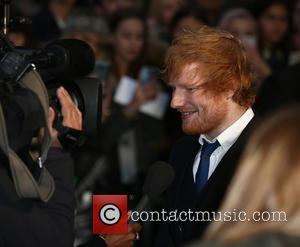 Ed Sheeran - 'Ed Sheeran: Jumpers for Goalposts' Film premiere - London, United Kingdom - Thursday 22nd October 2015