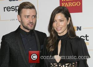 Justin Timberlake , Jessica Biel - 2015 GLSEN Respect Awards at the Beverly Wilshire Four Seasons Hotel - Arrivals at...
