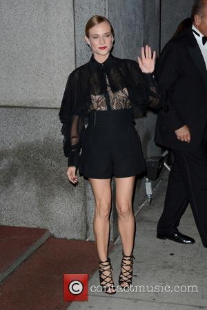 Diane Kruger - 2015 Fashion Group International Night Of Stars - Outside Arrivals - Manhattan, New York, United States -...