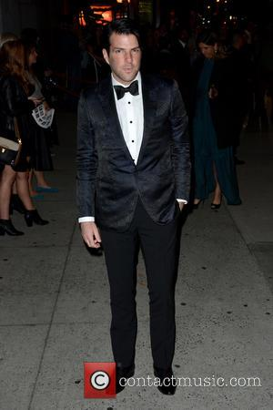 Zachary Quinto - 2015 Fashion Group International Night Of Stars - Outside Arrivals - Manhattan, New York, United States -...