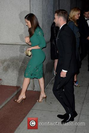 Jessica Biel , Justin Timberlake - 2015 Fashion Group International Night Of Stars - Outside Arrivals - Manhattan, New York,...