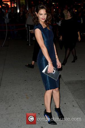 Katie Holmes - 2015 Fashion Group International Night Of Stars - Outside Arrivals - Manhattan, New York, United States -...