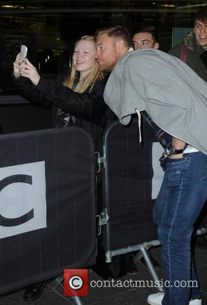 Andrew Flintoff , Freddie Flintoff - Andrew Flintoff arrives at the BBC Breakfast Studio before appearing on the show to...