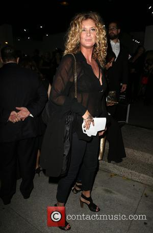 Rachel Hunter - Exhibition Opening of Brian Bowen Smith's Metallic Life at De Re Gallery - Los Angeles, California, United...