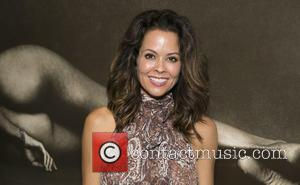 Brooke Burke-Charvet - Actor Channing Tatum poses at Brian Bowen Smith's 'Metallic Life' exhibition opening at DE RE GALLERY in...