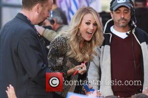 Carrie Underwood - Carrie Underwood performs live on NBC's 'Today' show at the Rockefeller Plaza at Rockefeller Plaza - New...