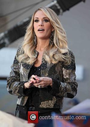 Carrie Underwood - Carrie Underwood performs live on NBC's Today Show at Rockerfeller Palza - New York City, New York,...