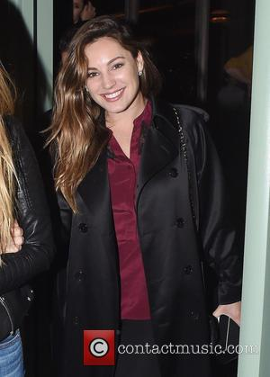Kelly Brook - Kelly Brook seen out at dinner with Holly Valance and husband Nick Candy. Kelly was seen enjoying...