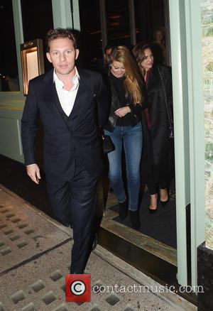 Kelly Brook, Holly Valance , Nick Candy - Kelly Brook seen out at dinner with Holly Valance and husband Nick...