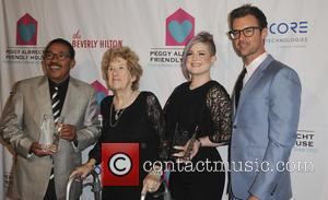 Herb J. Wesson, Peggy Albrech, Kelly Osbourne and Finn Wittrock