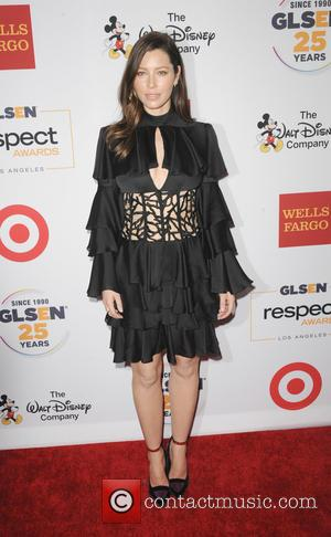 Jessica Biel - GLSEN Respect Awards New York 2015 held at Cipriani - Arrivals - Los Angeles, California, United States...