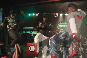 Ron Devoe, Michael Bivins and Ricky Bell