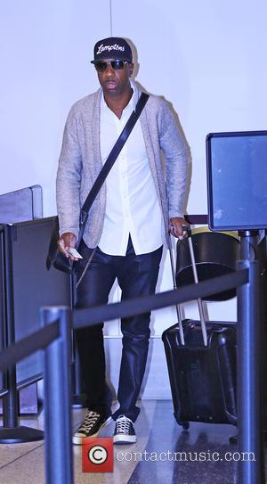 J.B. Smoove - J. B. Smoove at Los Angeles International Airport (LAX) at LAX - Los Angeles, California, United States...