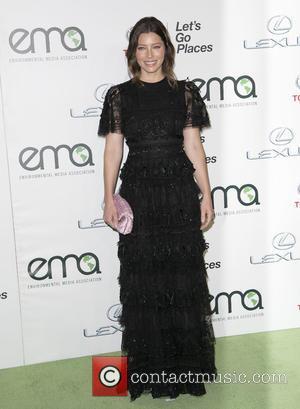 Jessica Biel - Celebrities attend 25th annual Environmental Media Awards at Warner Brother Studios Lot. at Warner Brother Studios Lot...