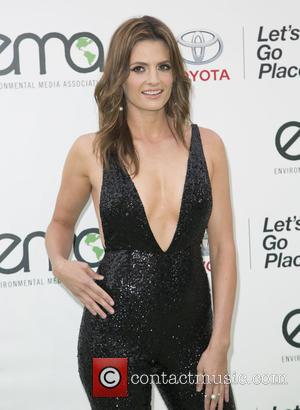 Stana Katic - Celebrities attend 25th annual Environmental Media Awards at Warner Brother Studios Lot. at Warner Brother Studios Lot...
