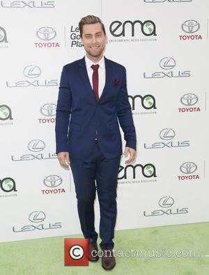 Lance Bass - Celebrities attend 25th annual Environmental Media Awards at Warner Brother Studios Lot. at Warner Brother Studios Lot...