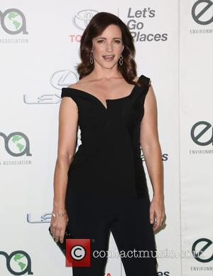 Kristin Davis - Celebrities attend 25th annual Environmental Media Awards at Warner Brother Studios Lot. at Warner Brother Studios Lot...