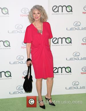 Blythe Danner - Celebrities attend 25th annual Environmental Media Awards at Warner Brother Studios Lot. at Warner Brother Studios Lot...