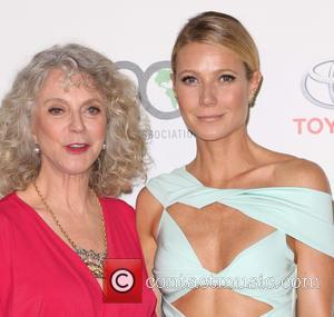 Blythe Danner , Gwyneth Paltrow - Celebrities attend 25th annual Environmental Media Awards at Warner Brother Studios Lot. at Warner...