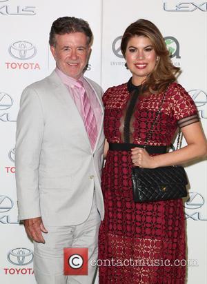 Alan Thicke , Tanya Callau - Celebrities attend 25th annual Environmental Media Awards at Warner Brother Studios Lot. at Warner...