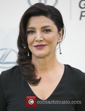 Shohreh Aghdashloo - Celebrities attend 25th annual Environmental Media Awards at Warner Brother Studios Lot. at Warner Brother Studios Lot...