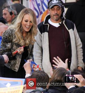 Carrie Underwood - Carrie Underwood performs live on NBC's 'Today' show - New York City, New York, United States -...