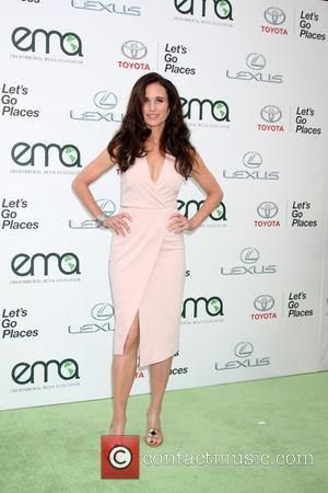 Andie MacDowell - 25th annual Environmental Media Awards at Warner Brother Studios Lot - Arrivals at Warner Brothers Studio Lot...