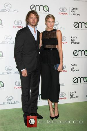 Eric Christian Olsen , Sarah Wright Olsen - 25th annual Environmental Media Awards at Warner Brother Studios Lot - Arrivals...