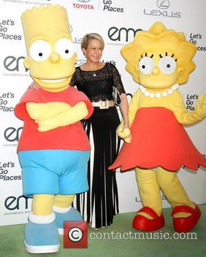 Bart Simpson Charachter, Yeardley Smith and Lisa Simpson Charachter